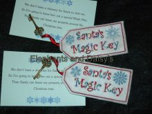 Santa's Magic Key Design file