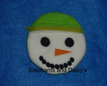 Snowman ITH Purse Design file