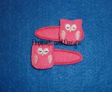 Owl Felties Design file