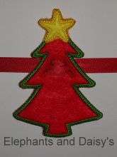 Christmas Tree ITH design file