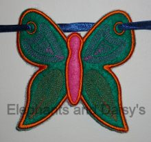 Butterfly Banner Design file