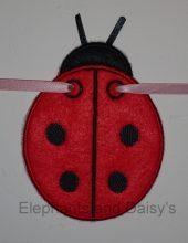 Ladybird Banner Design file