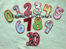 Numbers Satin Banner Design file