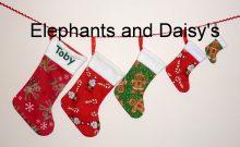 Christmas Stocking Set Design files