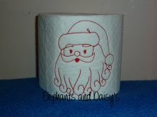 Redwork Santa design file