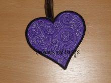Swirly Heart Design file