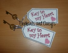 Key to my Heart Design file