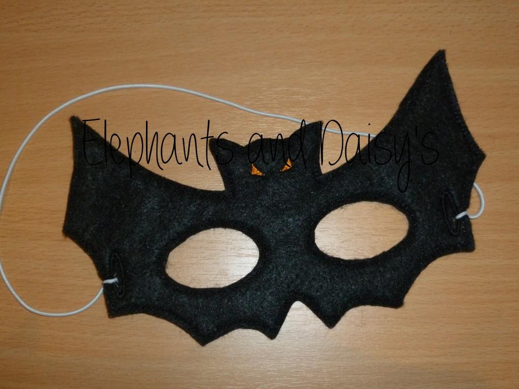 Bat Mask Design File Hannah