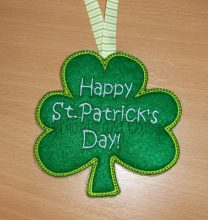 St. Patrick's Day Banner Design file
