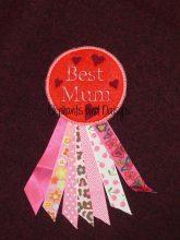 Best Mum Rosette Design file