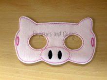 Pig Mask 5×7 Design file