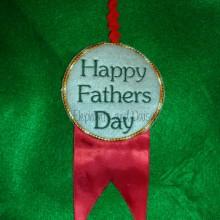 Fathers Day Rosette Design File