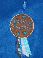 Best Grandpa Rosette Embroidery Design files