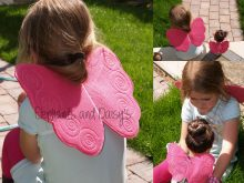 Child's Fairy Wings Design file
