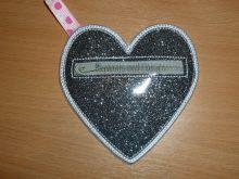 Vinyl Heart Purse design file