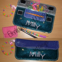 Loom Band Pouch Vinyl design file