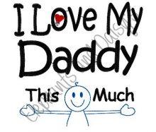 I Love My Daddy Design file