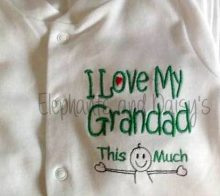 I Love My Grandad Design file