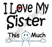 I Love My Sister Design file