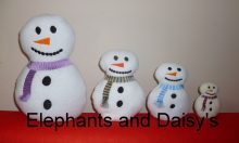 Snowman Stuffies Design file