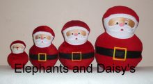 Santa Stuffies Design file