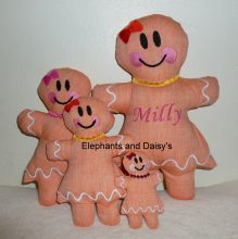 Gingerbread Girl Stuffies design file