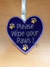 Wipe Paws Design file