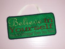Believe in Yourself Design file