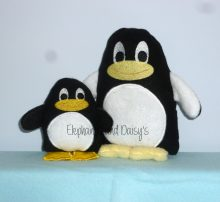 Penguin Stuffie Design file