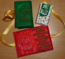 Tic Tac Merry Christmas design file