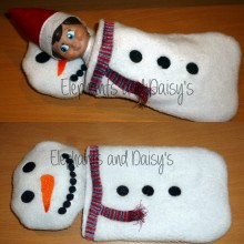 Snowman Sleeping Bag Design file