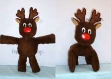 Reindeer Stuffie Design file
