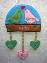 Love Birds Hanger Design file