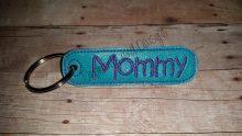 Mommy Keyring Design file