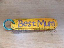 Best Mum Keyring Design file