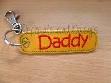 Daddy Keyring Design file