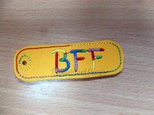 BFF Keyring Design file