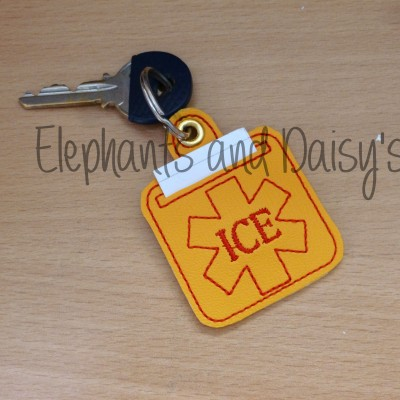 ICE Keyring Design file