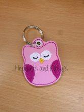 Owl Keyring Design file