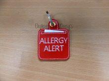 Allergy Alert Keyring Design file