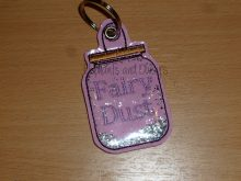 Fairy Dust Keyring Design file