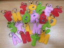 Letter Keyring Design files