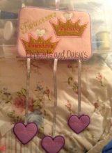 Twincesses Birth Hanger Design file