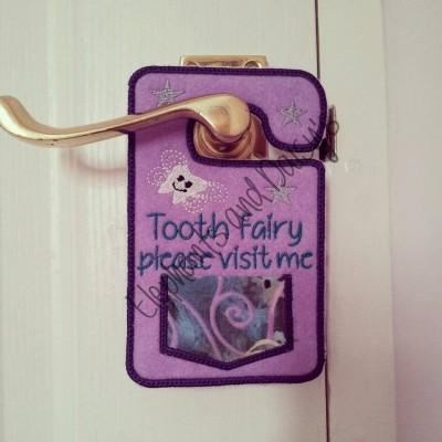Tooth Fairy 5inch Door hanger Design file