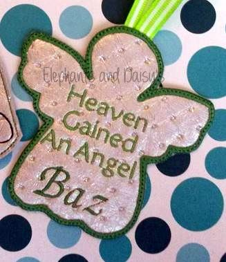 Heaven Gained An Angel Design file