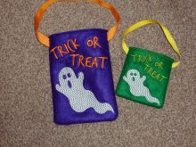 Ghost Treat Bag Design file