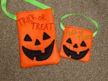 Pumpkin Treat Bag Design file