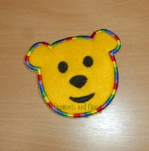 Teddy Badge Design file