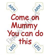 Come on Mummy Design file