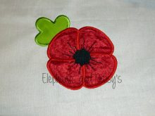 Poppy Applique Design files